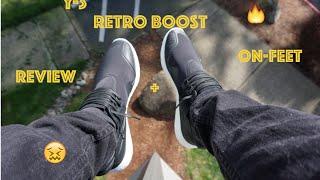 getlinkyoutube.com-Y 3 Retro Boost!! Unboxing + On Feet