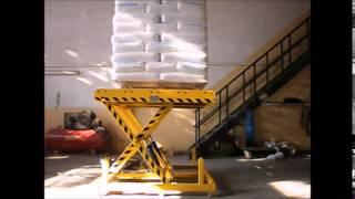 getlinkyoutube.com-AKRAS MAKİNA Konveyör   Hidrolik Lift Hidrolik Platform Hidrolik Yük Kaldırma Platformu