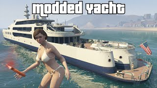 getlinkyoutube.com-GTA 5 Online - Yacht (extermination fun WTF)