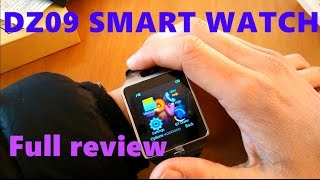 getlinkyoutube.com-Smart watch:DZ09 Smart Watch Review including and how to download the Sync software to your watch