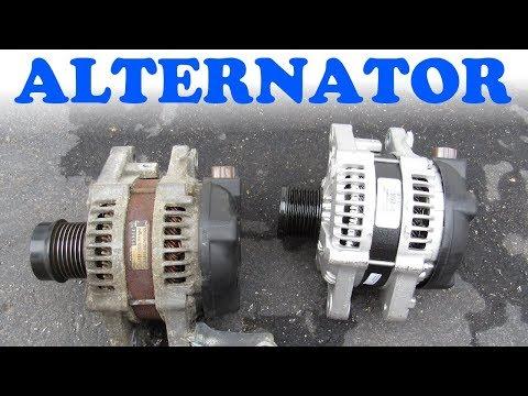 Alternator Replacement - Toyota & Lexus V6