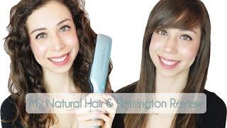 getlinkyoutube.com-השיער הטבעי שלי נחשף!   מחליק Remington Protect