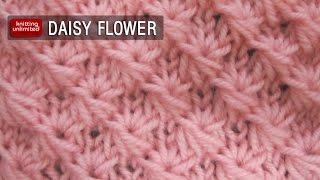 getlinkyoutube.com-Daisy Flower Stitch (Similar To Star Stitch)