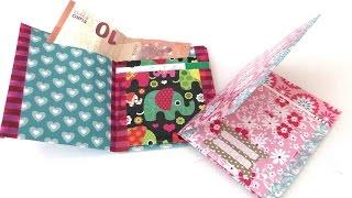 getlinkyoutube.com-Geldbörse / Portmonee aus Papier falten / eigenes Portmonee basteln / DIY wallet