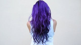 getlinkyoutube.com-How I dye my hair purple & blue ♥ DIY