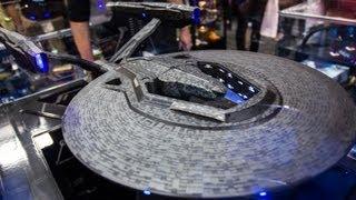 Star Trek: Into Darkness Starship Models from Quantum Mechanix