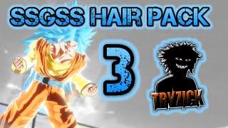 getlinkyoutube.com-Dragon Ball XV - SSGSS Hair Pack 3 - Tryzick