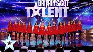 getlinkyoutube.com-Irish dancers surprise the Judges with their modern twist | Britain's Got Talent 2014