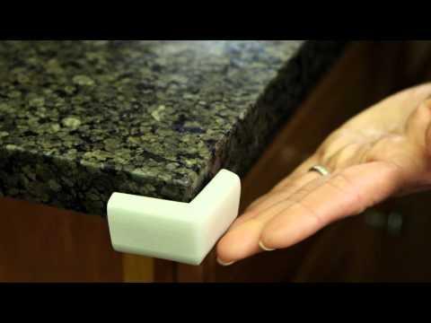 Dreambaby Classic Foam Corner Bumpers 4 Pack - Grey