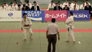 getlinkyoutube.com-決勝 中堅 中矢力 VS 上杉亮太 2011 全日本学生柔道優勝大会