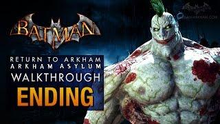 getlinkyoutube.com-Batman: Return to Arkham Asylum Ending - Joker's Party