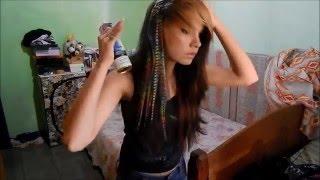 getlinkyoutube.com-Cut my scene emo hair - Zara Maria
