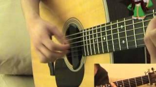 getlinkyoutube.com-The Scientist Fingerstyle Guitar Lesson