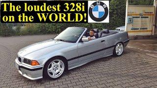 getlinkyoutube.com-BMW E36 Straightpipes brutal sound best exhaust rev limiter