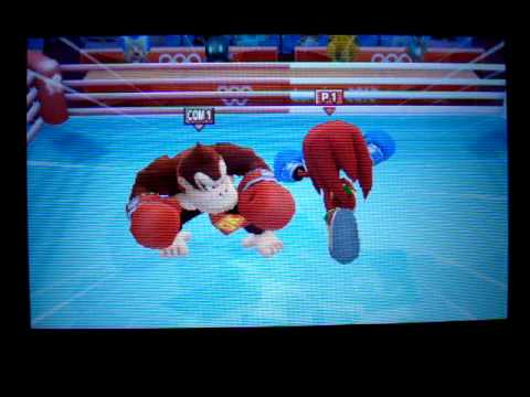 Mario and Sonic London 2012 Olympic Games: Boxing Event