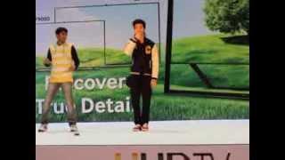 getlinkyoutube.com-Abudhabi Electronics Shopping - Dance show with Raghav