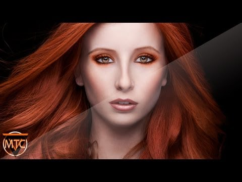 Professional Photoshop Extreme Makeover  - The Fire Witch - By MTC