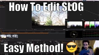 How To Color Grade/Edit S-Log2