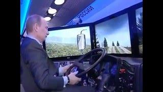 getlinkyoutube.com-Путин учится ездить на большем автомобиле КАМАЗ! #THWGlobal ССЫЛКА под видео: