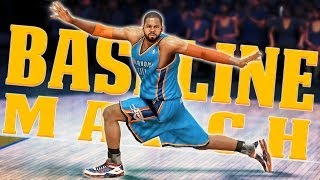getlinkyoutube.com-NBA 2K14 Next Gen MyCareer Playoffs #53 - Doing The Baseline March, I'm Doing The Baseline March!
