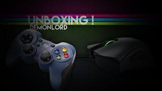getlinkyoutube.com-Unboxing! // Razer DeathAdder Croma & Logitech F310 Controller