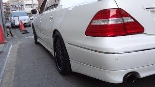 マフラー音比較(V8・直6・直4) 30後期セルシオ アリストV300 レクサス LS460  アルピナ ベンツ