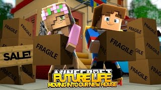 getlinkyoutube.com-LITTLE KELLY AND DONNY MOVE IN TOGETHER! | Minecraft Our Future Life  (Roleplay)