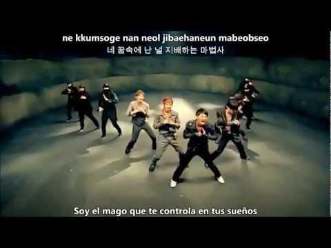 Mirotic En Español de Tvxq Letra y Video