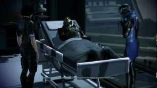 getlinkyoutube.com-Mass Effect 3: Thane gives his life to save Shepard and salarian Councilor