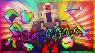 getlinkyoutube.com-Minecraft PvP Texture Pack - Rainbow Pack