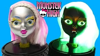getlinkyoutube.com-Monster High Gore Geous Ghoul Glow In The Dark Limited Edition 33 Accessories Hair Makeup