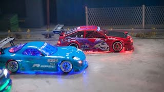 getlinkyoutube.com-Falken Tire: Ultimate Dark Night RC Drifting