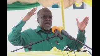Alichokisema Rais Magufuli Kwenye Mkutano Mkuu wa CCM Dodoma