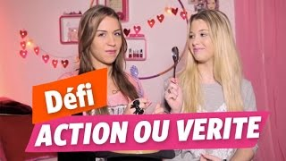 getlinkyoutube.com-✿ Défi d'Emmy et Marie ✿ Action Chiche ou Vérité ?
