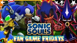 getlinkyoutube.com-Fan Game Fridays - Sonic Souls Final Version (Max Settings)