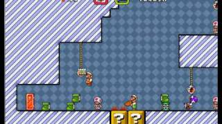 (2 Player) Super Mario Bros X Part 4