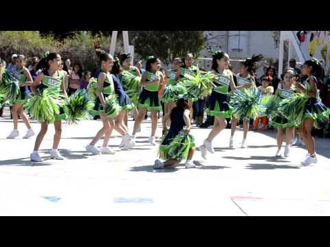 Baile de porristas LAS SERIS (Segunda Copa Seri)