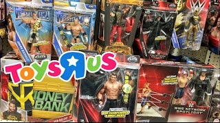 getlinkyoutube.com-CRAZY COLLECTORS WWE FIGURES TOYSRUS TOY SHOPPING FREAKOUT!