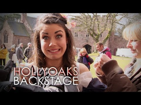 Hollyoaks Behind the Scenes: Texas and Will's Wedding