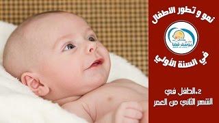 getlinkyoutube.com-الطفل  فى الشهر الثانى من العمر مع د.يوسف قضا | Baby development : your 2 month old baby