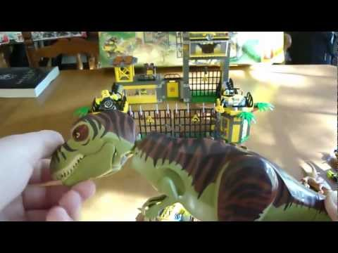LEGO DINO DEFENSE HQ REVIEW: Set 5887