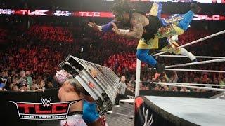 getlinkyoutube.com-WWE Network: The Usos vs. Lucha Dragons vs. The New Day: WWE TLC 2015