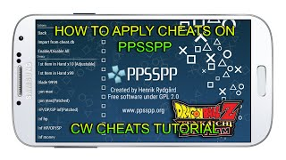 getlinkyoutube.com-How to apply CHEATS on PPSSPP (CwCheats) - App Android & IOS & Computer