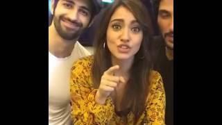 Neha Sharma live kiss