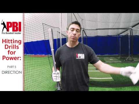 Pro Baseball Insider   Hitting Drills for More Power   Pt  5