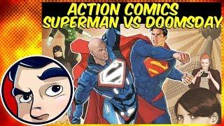 "Action Comics ""Superman VS Doomsday"" - DC Rebirth Complete Story"
