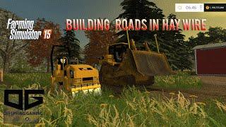 getlinkyoutube.com-Farming Simulator 2015 Construction- Building Roads!