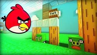 getlinkyoutube.com-Minecraft ANGRY BIRDS
