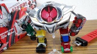 getlinkyoutube.com-ドライブ35話に登場!『ベルトさん ロボットVer』をDX版で再現できるか試してみたw 仮面ライダードライブ DXドライブドライバー 合体