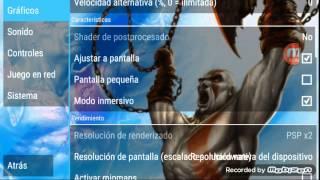getlinkyoutube.com-La mejor configuración para god of war psp android